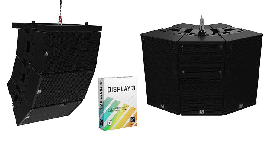Martin Audio TORUS und DISPLAY 3D.