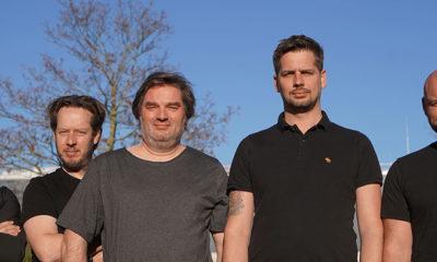 (v.ln.fr.: Enzo Canelli, Thorsten Sattler, Thomas Rohwedder, Sascha Werner, Andreas Nicklas)