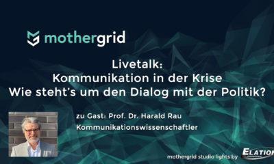 Kommunikation in der Krise: Livetalk mit Prof. Dr. Harald Rau, Kommunikationswissenschaftler