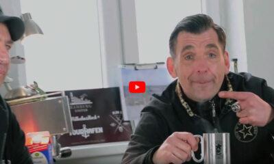 """Ole Plogstedt und Lars Ide erzählen auf Hamburg United TV Geschichten aus der """"Schattenwelt""""."""