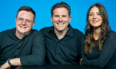 Das neue Triumvirat in der Geschäftsführung von epicto: Maja Schenk, Timo Kärcher und Max Röhrich (v.r.)