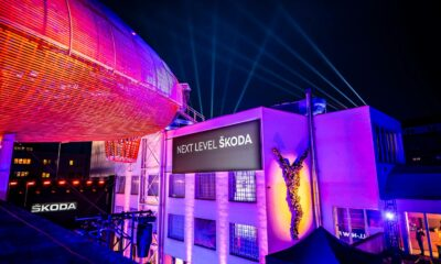 Chris Moylan inszeniert Weltpremiere des neuen ŠKODA Fabia mit ELATION Proteus (Foto: © Chris Moylan / Optikalusion)