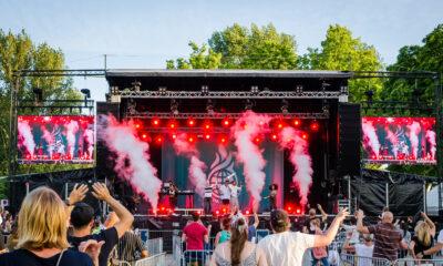 Das Konzert von Culcha Candela war Teil einer Reihe von Open-Air Veranstaltung, die als Ersatz für das abgesagte Monheimer Stadtfest stattfanden.