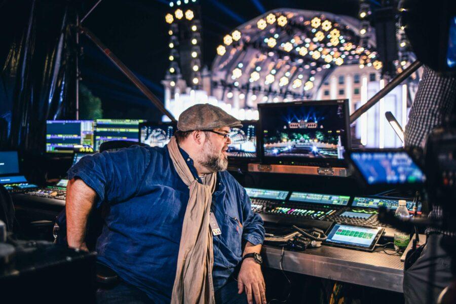 Lichtdesigner Jerry Appelt freut sich immer wieder sehr auf das Event. © Emmanuel Schwaller