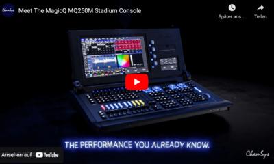 ChamSys MagicQ MQ250 Stadium Console