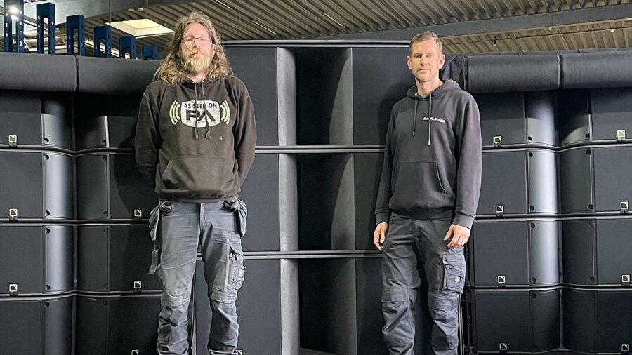 Mike und Danny Rauchfleisch von AudioStudioNord (v.l.)